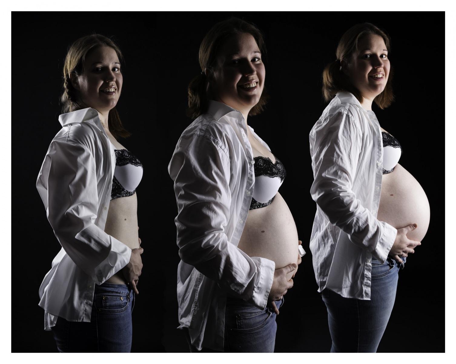 nackte schwangere frauen, die dessous